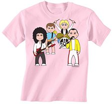 521d579a67a7a7 VIPwees Queen Of Camp Childrens Kinder unisex music T-Shirt boy/girl Junge /
