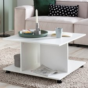 wohnling design couchtisch wl5 742 74 x 74 x 43 5 cm weiss drehbar