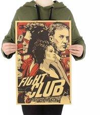 The Fight Club 05 Poster A3 Brad Pitt Schauspieler Der Verein Von Kampf