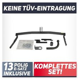 AHK Fest Schwannenhals Anhängerkupplung Nissan Almera Tino 00-07 26016//F/_A1