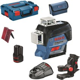 Lader in L-BOXX Gr 2 Bosch Linienlaser GLL 3-80 C 1x 2,0 Ah Li-Ion Akku