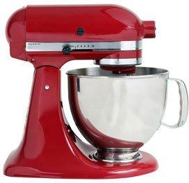Abbildung einer roten Küchenmaschine