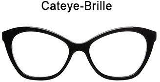 Abbildung einer Cateye-Brille