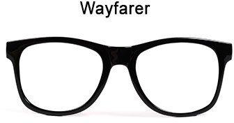 Abbildung einer Wayfarer-Brille
