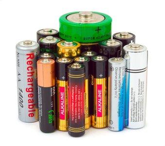 Die verschiedenen Baugrößen der Batterie