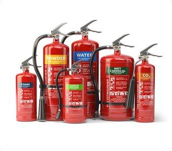 Die Feuerlöscher-Varianten