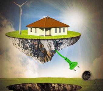 Immobilie erzeugt eigenständig Strom durch erneuerbare Energien