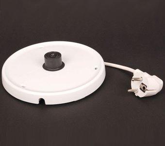 Sockel eines Wasserkochers mit aufgerolltem Kabel