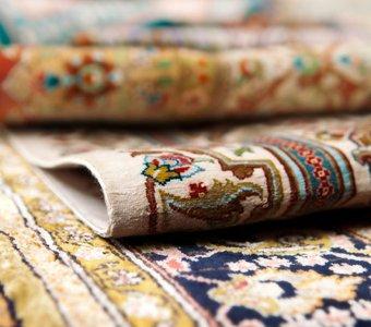 Variationen von orientalischen Teppiche