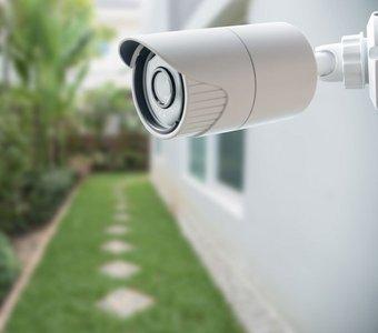 Kamera im Garten