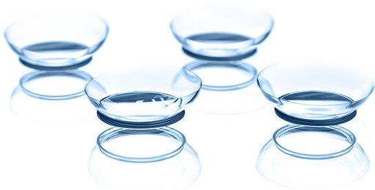 Aufnahme mehrerer Kontaktlinsen