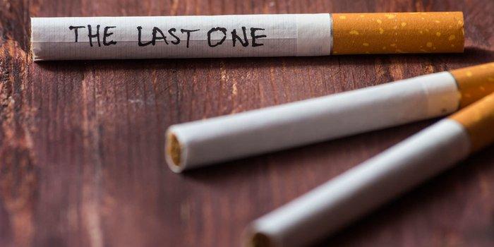 Countdown für die letzte Zigarette des Lebens