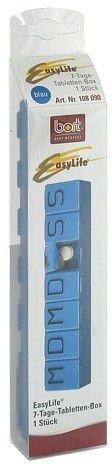 Bort EasyLife 7-Tage-Tablettenbox blau