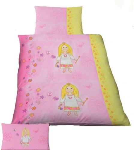 Kinder Baby Bettbezug Bettw/äsche Bettgarnitur Mikrofaser 100 x 135 cm Ba-St 100cm x 135cm 2 tlg badtex24 2//4 tlg