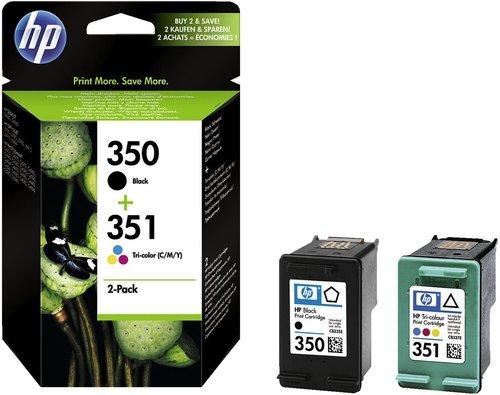 Hewlett Packard HP 350 + 351 (SD412EE) Schwarz+Farbe