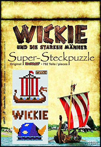 Cartronic Wickie Steckbilder - Helm/Schiff