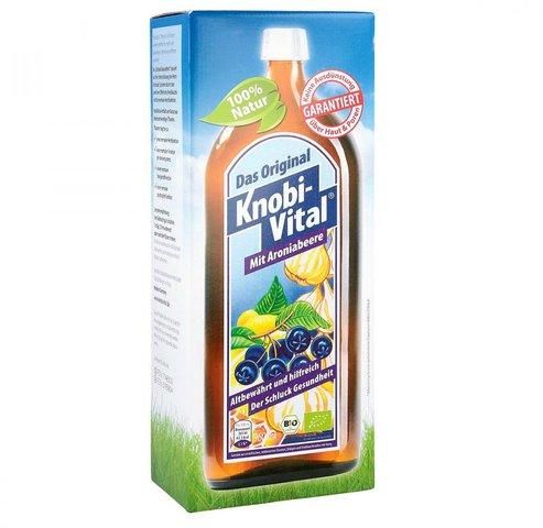 KnobiVital Pflanzensaft mit Aroniabeere (960 ml)