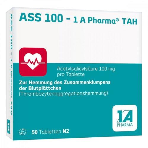 1A Pharma Ass 100 Tah Tabletten (50 Stück)