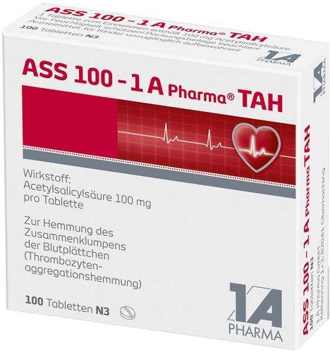 1A Pharma Ass 100 Tah Tabletten (100 Stück) (PZN: 06312077)