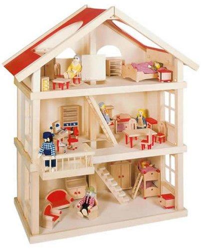 goki Puppenhaus mit 3 Etagen (51957)