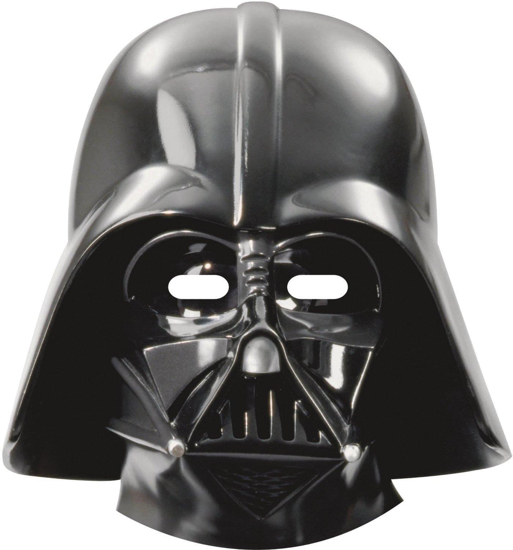 Rubies CARD Mask Dark bb-8 r2d2 Kylo ren yoda masque en carton star wars