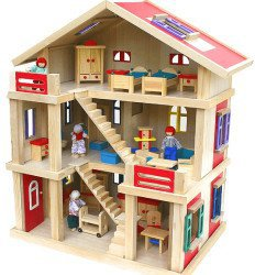 VDP Puppenhaus Holz Lotte
