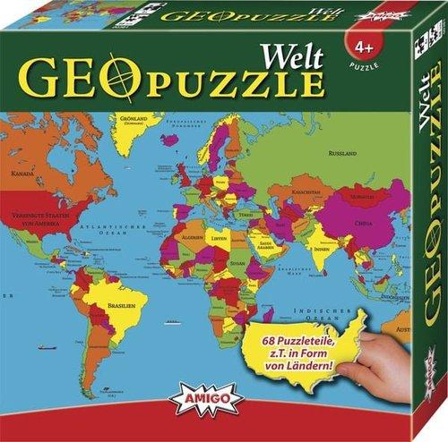 Amigo Geo Puzzle - Welt