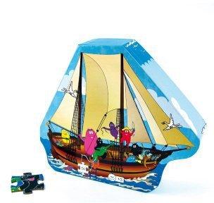 Barbo Toys Die Barbapapas im Boot