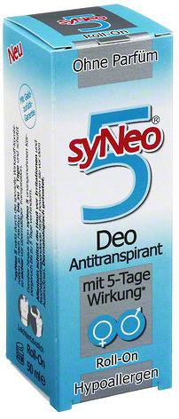 syNeo Deo-Antitranspirant mit 5 Tage Wirkung Roll-on