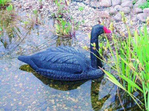Ubbink Tierfigur Schwan (schwarz)
