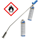 CFH Abflammgerät PZ 6000 Druckregler DR114 Unkrautbrenner Unkrautvernichter