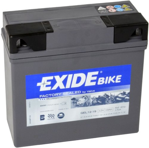 Exide Bike Gel G19 19AH