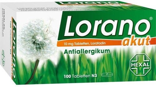 Hexal Lorano Akut (100 Stk.)