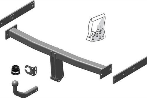 E-Satz 13pol AHK /& ES Auto Hak Anhängerkupplung starr Für A6 Avant Typ 4B//C5