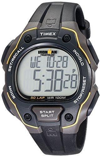 Timex Ironman Core 50 Lap black yellow T5K494