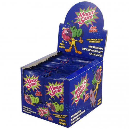 Pop Rocks Magic Gum (50 x 7 g)