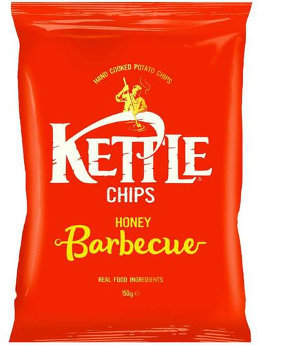 Kettle Foods Chips Honey Barbecue (150 g)