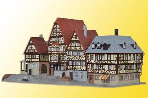 Kibri Marktplatz Miltenberg (37102)
