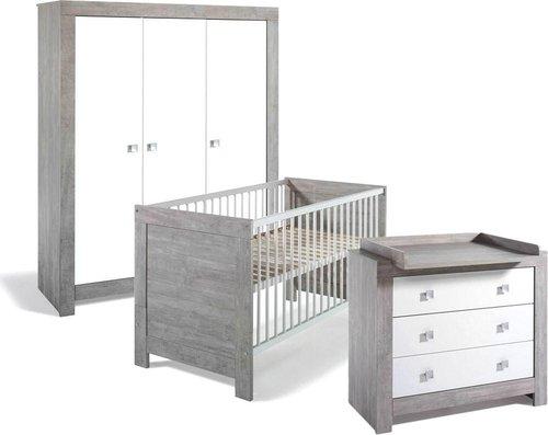 Schardt Kinderzimmer Nordic Driftwood (3-türig)