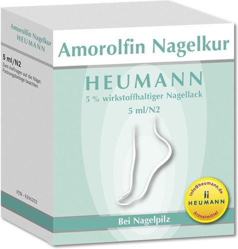 Heumann Amorolfin Nagelkur 5 % Nagellack (5 ml)
