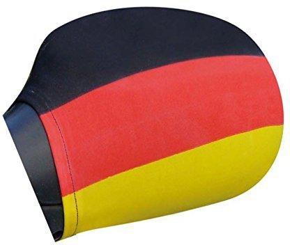 links + rechts tsnetworks Aussenspiegel/überzug Spiegel/überzug Deutschland Spiegelfahne Aussenspiegelfahne /Überzug 2er SET Auto Spiegel Fahne Flagge