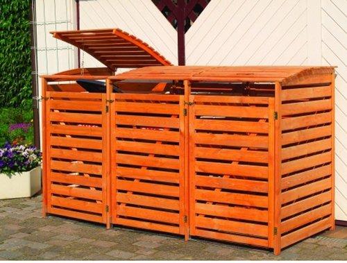 Promex Mülltonnenbox Vario III für 3 Tonnen