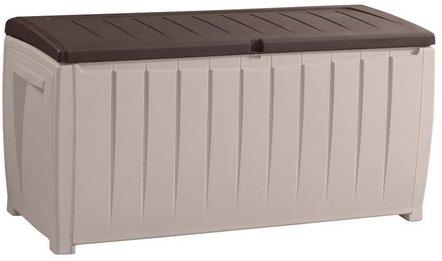 Tepro Auflagenbox mit Sitzfunktion 125 x 55 x 61 cm