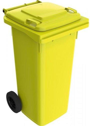 120 Liter Kunststoff Mülleimer Mülltonnen Mit Rädern