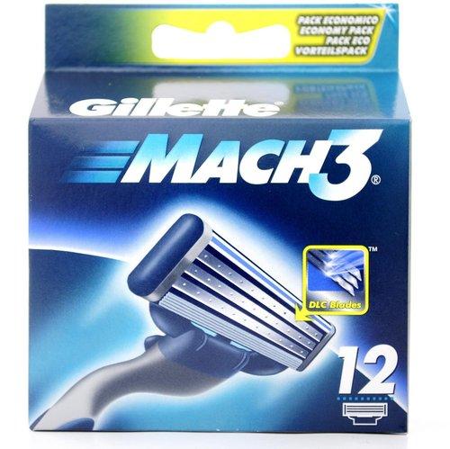 Gillette Mach 3 12er Pack