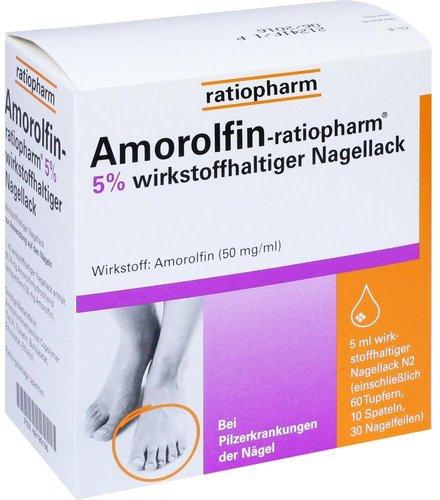 ratiopharm Amorolfin 5 % Nagellack (5 ml)