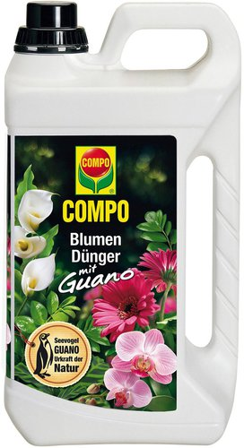 Compo Blumendünger mit Guano 5L
