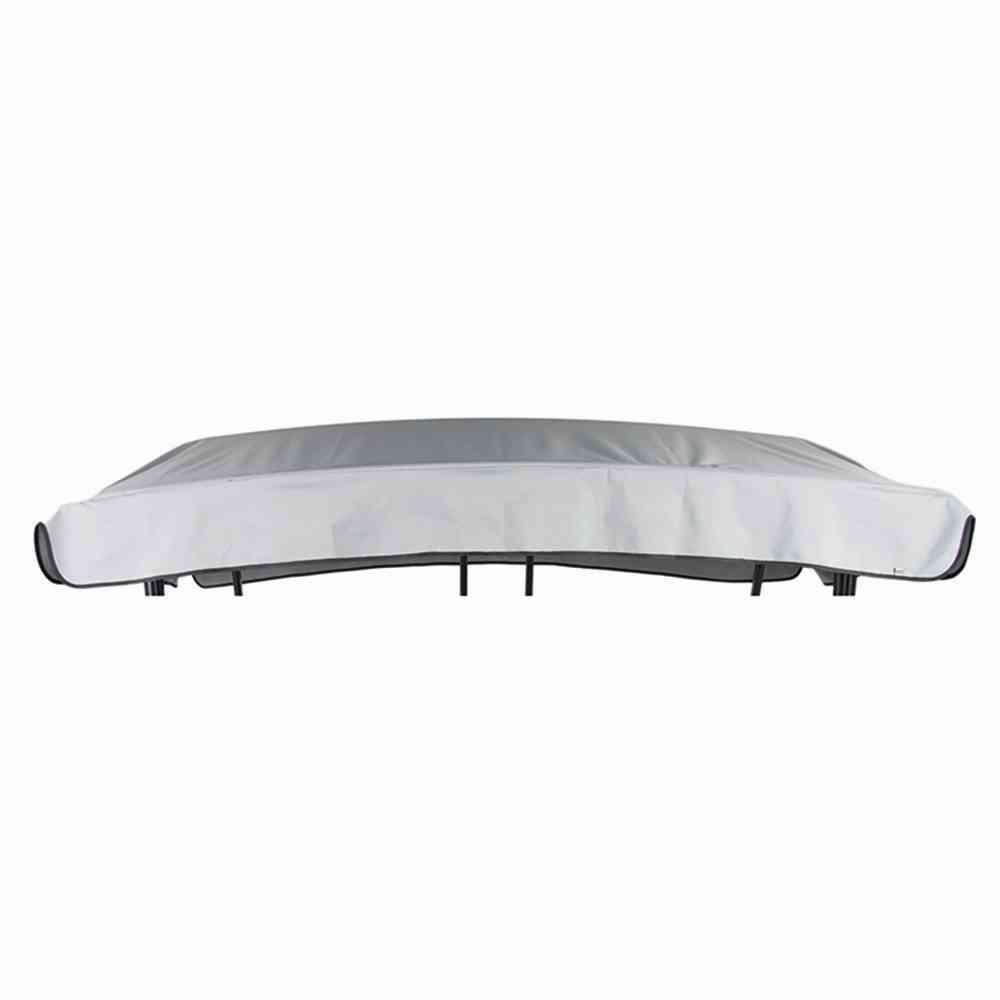 Wowlela Ersatzdach 190x132cm Gartenschaukel Universal Hollywoodschaukel 3 Sitzer Ersatz Bezug Sonnendach Schaukel Dach