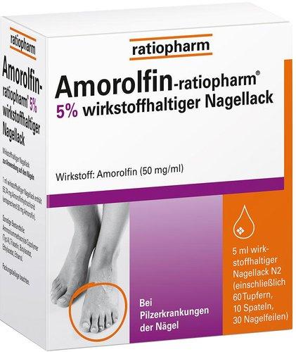 ratiopharm Amorolfin 5 % Nagellack
