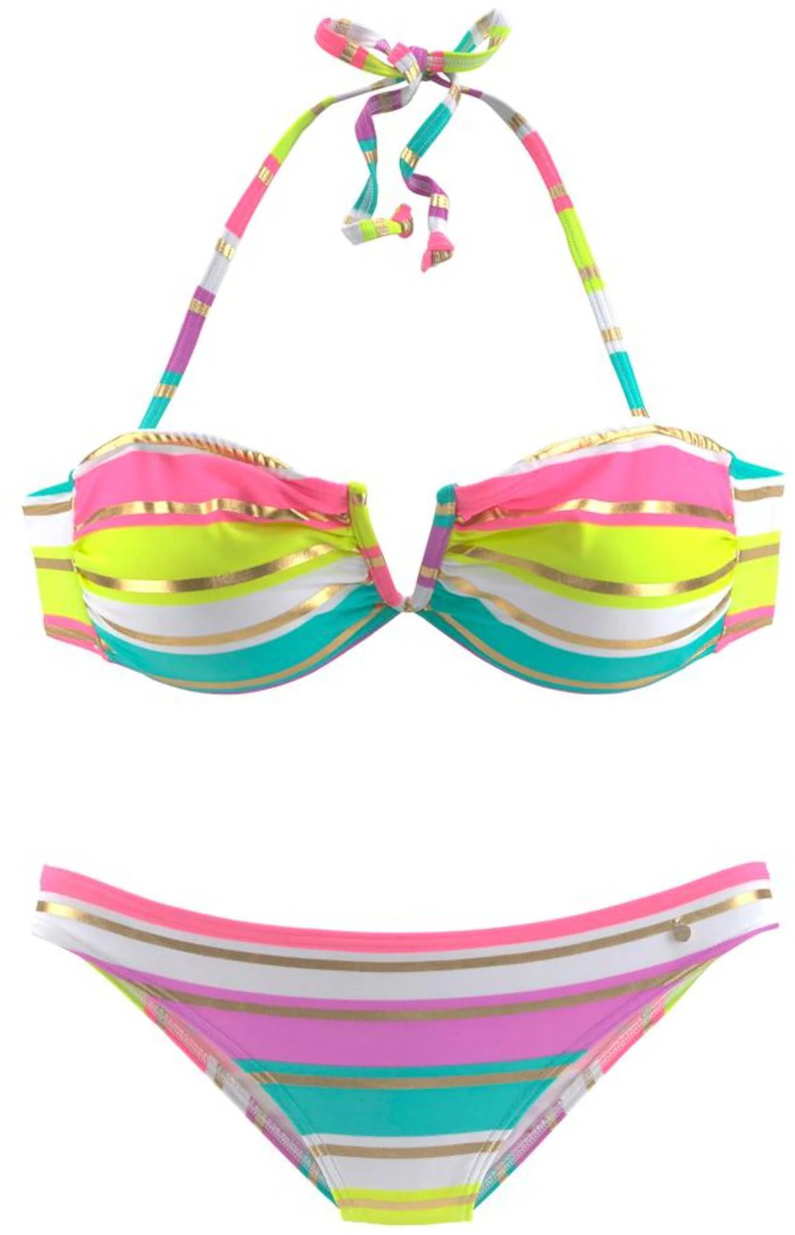 40 A//B marine s.Oliver RED LABEL Beachwear LM Damen Tonja Bikini-Set